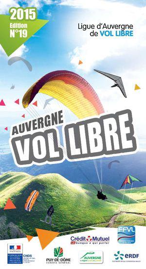 Juin 2015 : Le Bouquin de la Ligue de vol Libre 2015 est disponible en version numerique