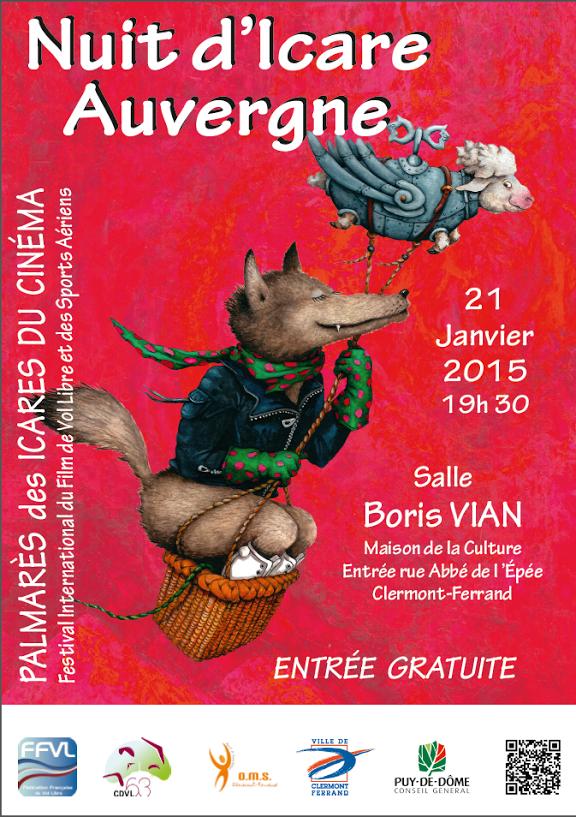 LA Nuit D'Icare 2014