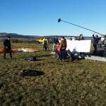 tournage avec aeroparapente