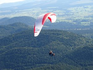 parapente devant sancy